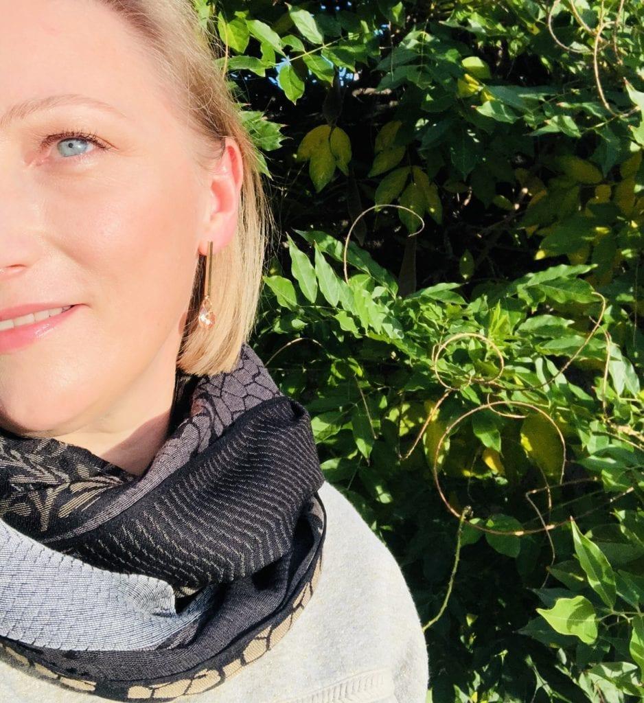 blogueuse lyonnaise La Fabrique d'Echarpe Les Carnets d'une Quadra