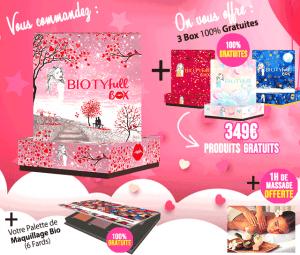Biotyfull Box Les Carnets d'une Quadra
