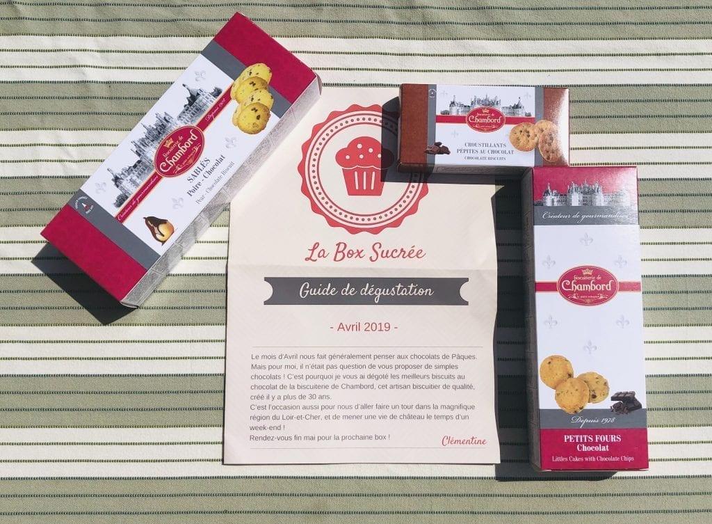 box sucrée Les Carnets d'une Quadra